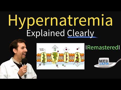 Hypernatremia Explained! Types, Diagnosis, & Treatment