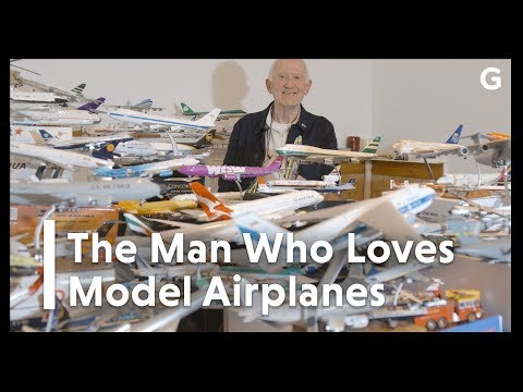 The Man Who Loves Model Airplanes
