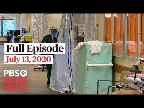 PBS NewsHour live episode, July 13, 2020