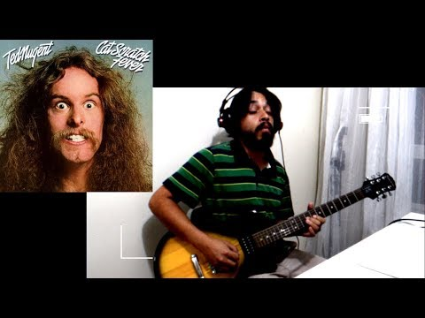 Ted Nugent - Cat Scratch Fever (Guitar Cover by James Keifer)