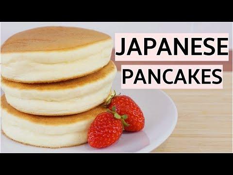 Fluffy Japanese Pancakes Recipe ( Jiggly Souffle Pancakes )