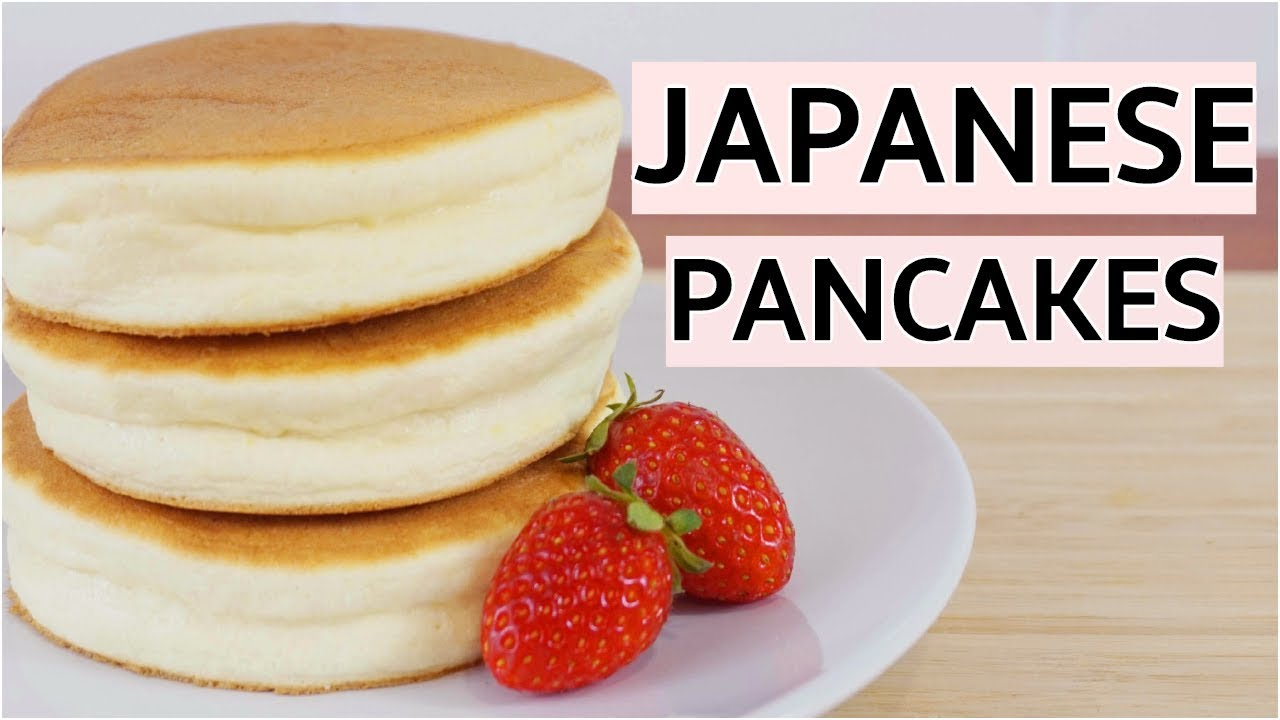 Fluffy Japanese Pancakes Recipe Jiggly Souffle Pancakes Youtube