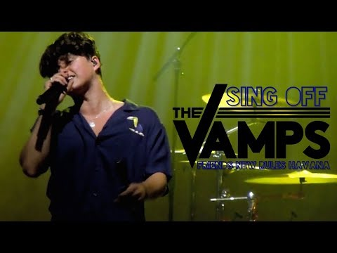 THE VAMPS - Song Mashup (Friends, New Rules, Havana) Night & Day Tour, Cologne