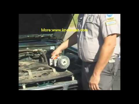 Car Air Conditioner Repair: Faulty Compressor