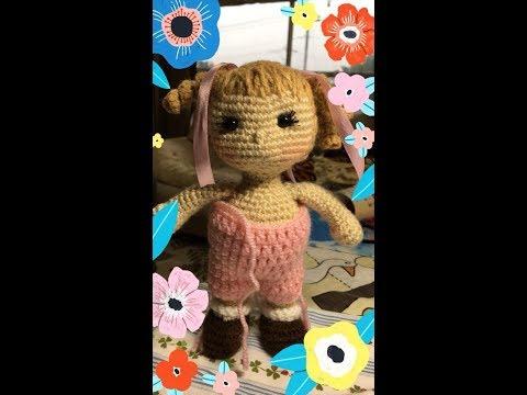 Empezamos a tejer Muñeca Carolina (piernas) amigurumi By Petus ...   360x480
