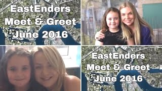 Eastenders meet and greet Rita Simons Samantha Womack and more  June 2016