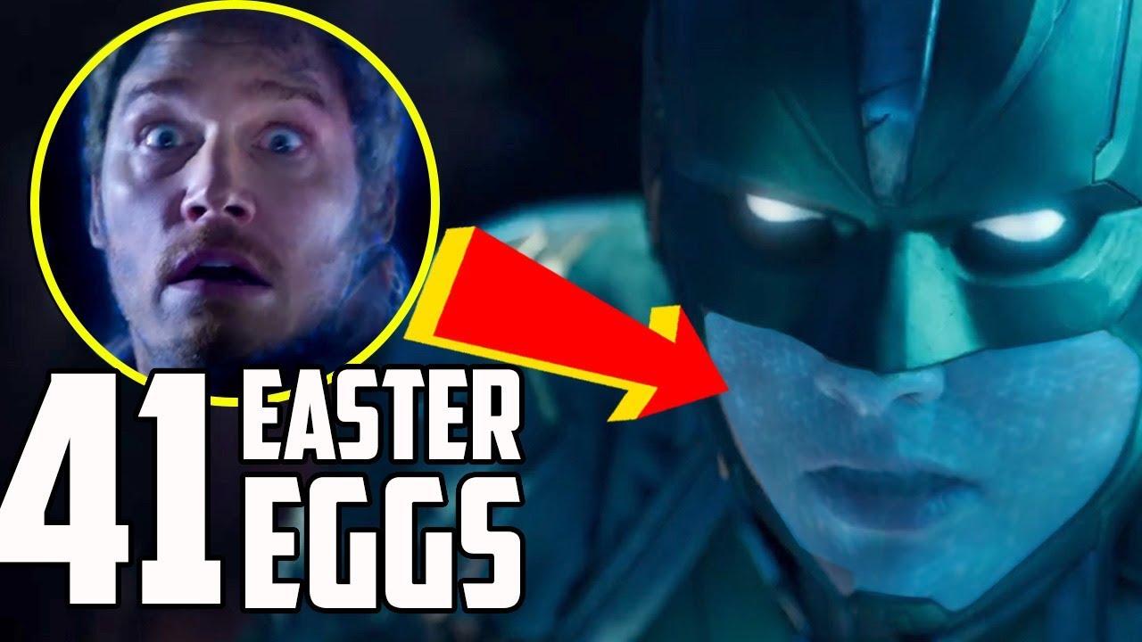 captain marvel: trailer breakdown and easter eggs - youtube