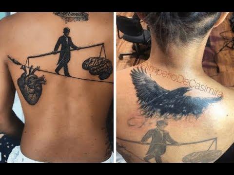 Mozart La Para se borra tatuaje con nombre de su ex-esposa Alexandra el día que está cumpleaños
