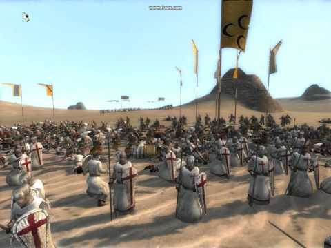 The Crusades (Ep4) - Battle Of Hattin - With Total War