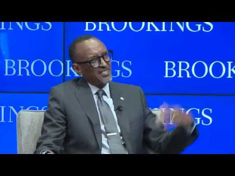 President Kagame speaks at Brookings Institute Public Lecture on AU Reform (Part2/2)