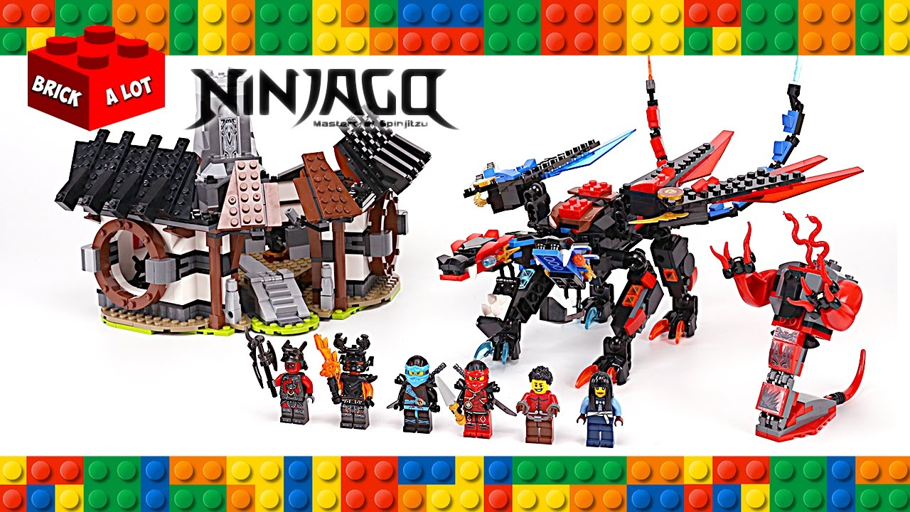 Lego ninjago dragon 39 s forge 70627 unofficial set speed - Lego ninjago dragon a 4 tetes ...