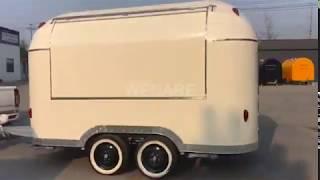 Hamburger Truck Mobile Street Food Truck Taco Trailer Coffee Cart for Customization