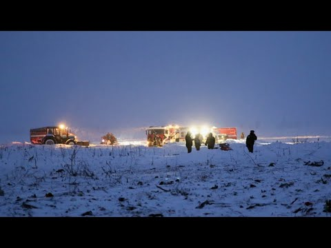 Russia: Scores dead as plane crashes near Moscow