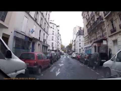Driving In Paris - Rue Violet - Boulevard Garibaldi