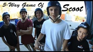 5-Way Game of Scoot