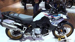 2018 BMW F850 GS Review - Walkaround - 2017 EICMA Milan Motorcycle Exhibition