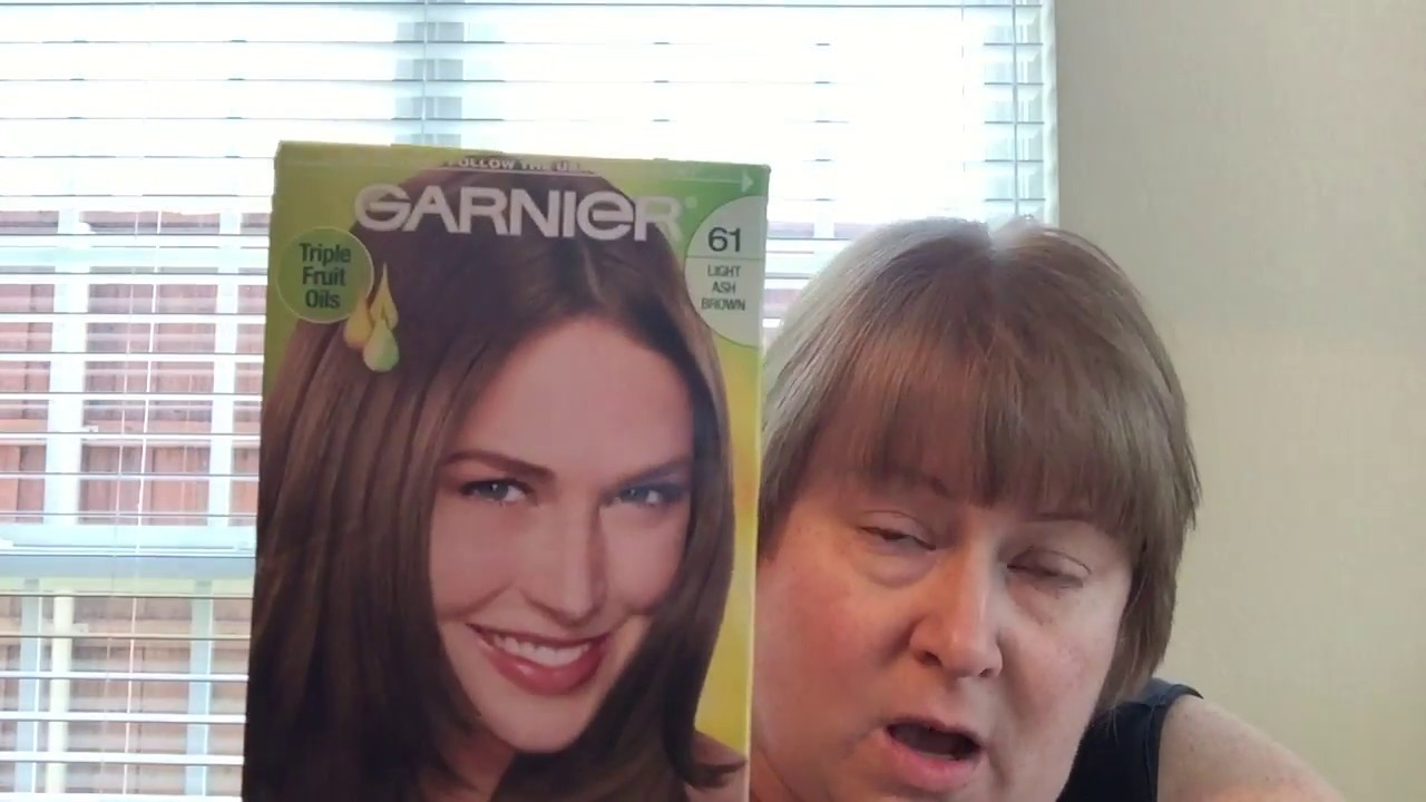Garnier Nutrisse 61 Light Ash Brown Bag Unboxing Youtube