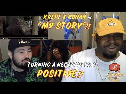 Krept & Konan - My Story (Official Video) ( Thatfire Reaction )