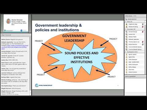The World Bank and the humanitarian-development-peace nexus