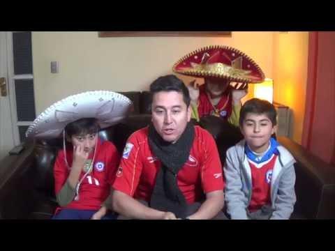 CHILE 7 VS MEXICO 0 - CUARTOS DE FINAL - GOLEADA SELECCION CHILENA 18/06/2016