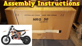 Video KTM 50 Cheap Replica - Unboxing  - Full Assembly Instructions download MP3, 3GP, MP4, WEBM, AVI, FLV September 2018