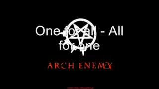 arch enemy - nemesis (lyrics)