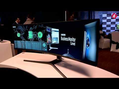 Samsung's 49-inch QLED Curved Gaming Monitor First Look | Digit.in