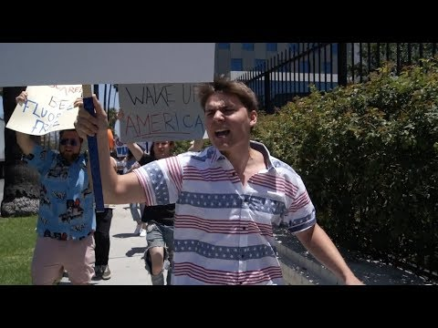 I started a protest vlog