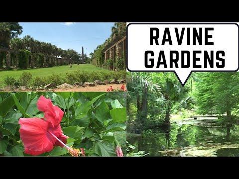 Ravine Gardens State Park Palatka Florida - YouTube