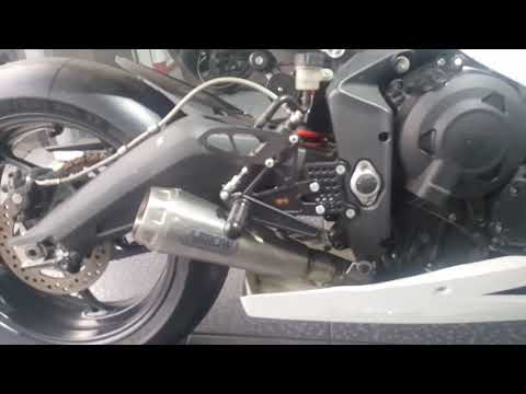 Arrow Titanium full exhaust (Moto style) - Triumph Daytona
