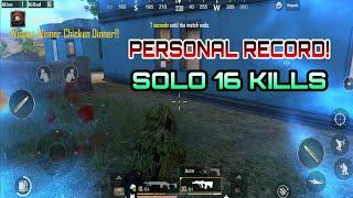 [Hindi] Pubg Mobile | Solo 16 Kills | Winner Winner Chicken Dinner