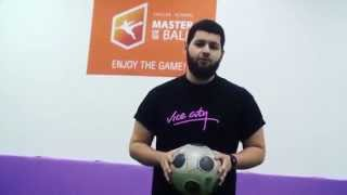 Как научиться набивать мяч?