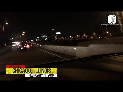 Triangle UFO over Chicago, Illinois | UFO Sightings 2016 | Chicago UFO