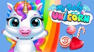 Fun Pony Care Games - Play Pet Baby Unicorn Dress Up, Feed Horse Mini
