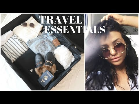 What you NEED when you Travel!   TRAVEL ESSENTIALS