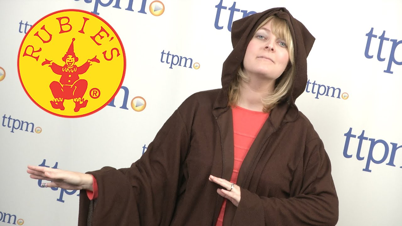 Star Wars Jedi Robe Adult Costume from Rubies - YouTube 47153371e