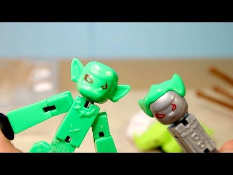 РЕАЛЬНО УЖАСНЫЕ МОНСТРЫ СТИКБОТЫ подделки Stikbots Monsters