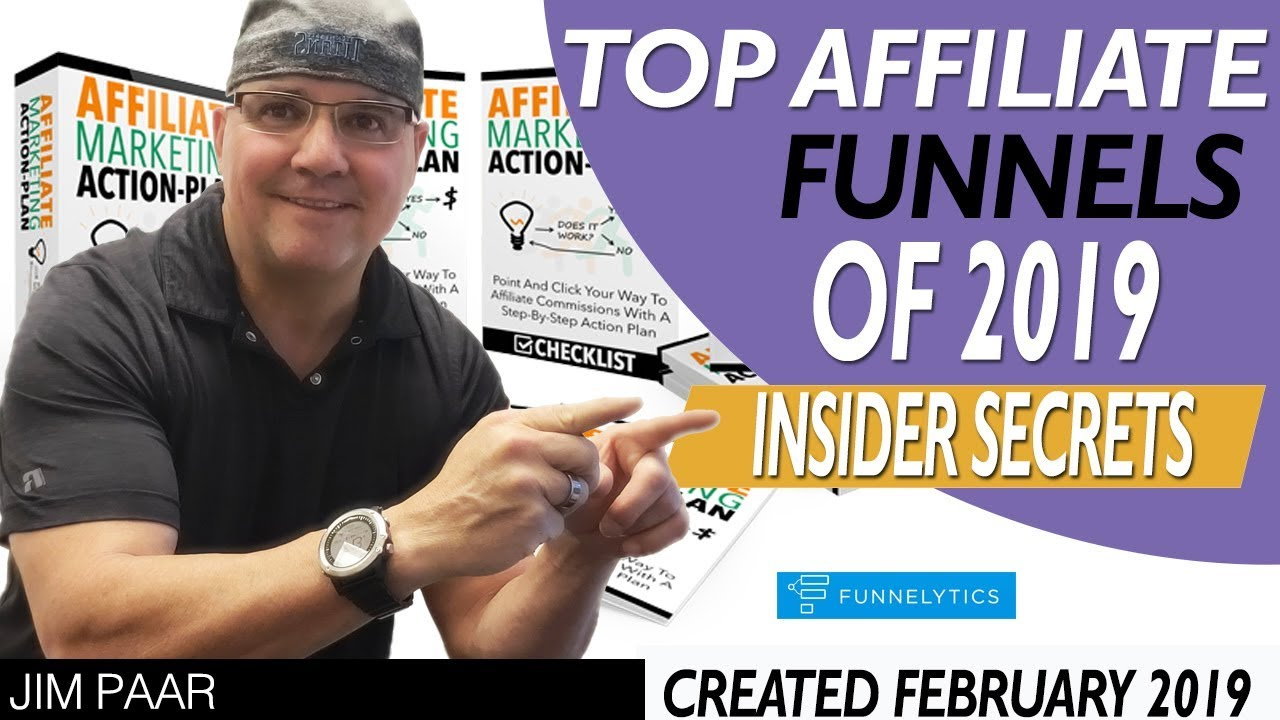 Best Affiliate Marketing Funnels In 2019   Insider Secrets Shown