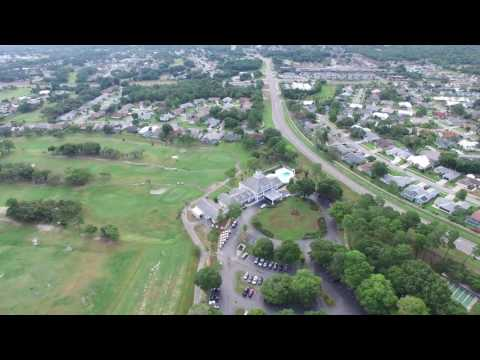 Phantom 3 Flying over Hudson, FL to the West Coast