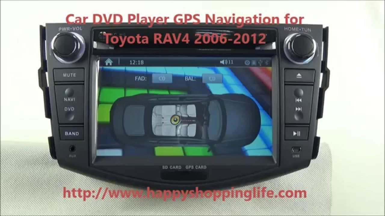 dvd-плеер для toyota rav4