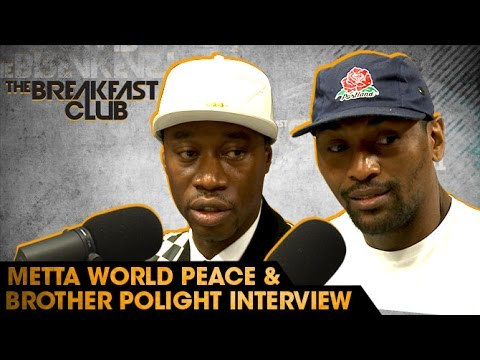 Metta World Peace and Brother Polight Interview With The Bre