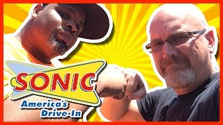 Sonic Drive-in Oreo Peanut Butter Milkshake Review With Daym Drops