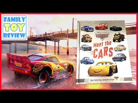 Cars 3 Toys - Meet the Cars Book Preview - New Disney Cars 3 Characters Book Review