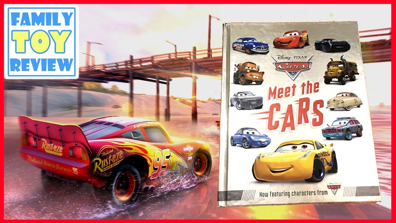 Cars 3 Toys Meet The Cars Book Preview New Disney Cars 3 Characters Book Review