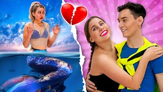 I Am a Mermaid And My Boyfriend Doesn't Know That | Funny Mermaid Situations