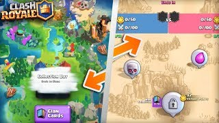 How Clan Wars Looked BEFORE Release in Clash Royale! (2017 - 2018) EXCLUSIVE Beta Footage & Pictures