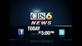 TODAY ON CBS 6 NEWS AT 5