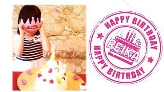 市川海老蔵さん 愛娘 麗禾ちゃん ハッピーバースデー2015 レイレイ おめでとう!7月25日 可愛い笑顔のお誕生日♡