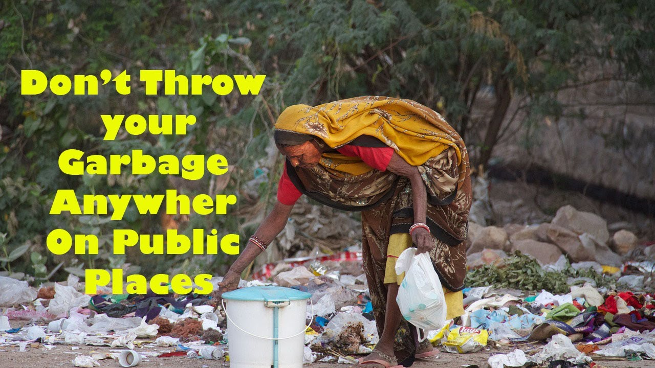 social awareness message | don't throw Your Garbage ...