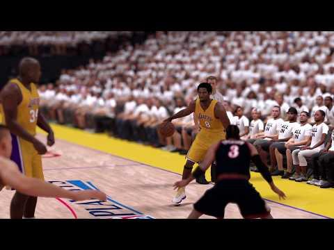NBA 2K17ならアイバーソンやコービー、シャックなどが使い放題!